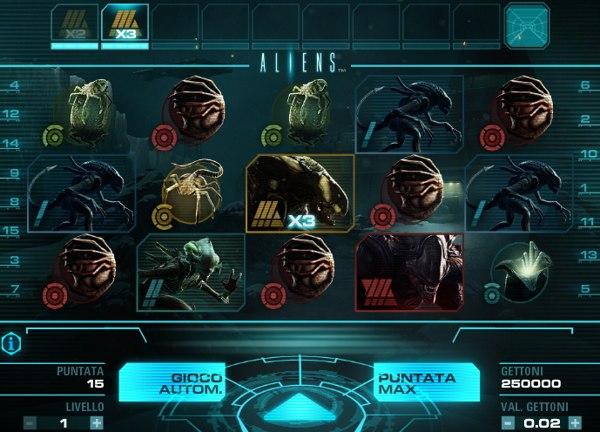 Aliens slot demo