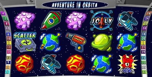 La Slot Machine Avventure in Orbita