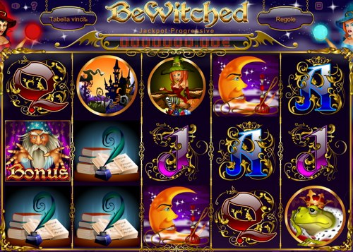 Screenshot di gioco di BeWitched