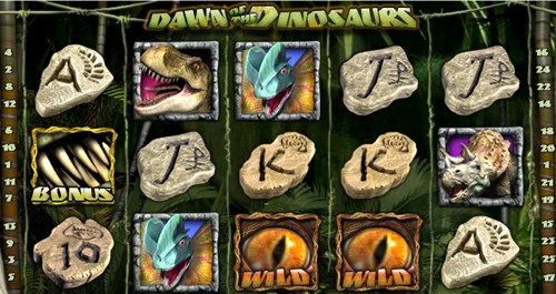 La Slot Machine Dawn of the Dinosaurs