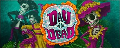 logo slot day of the dead