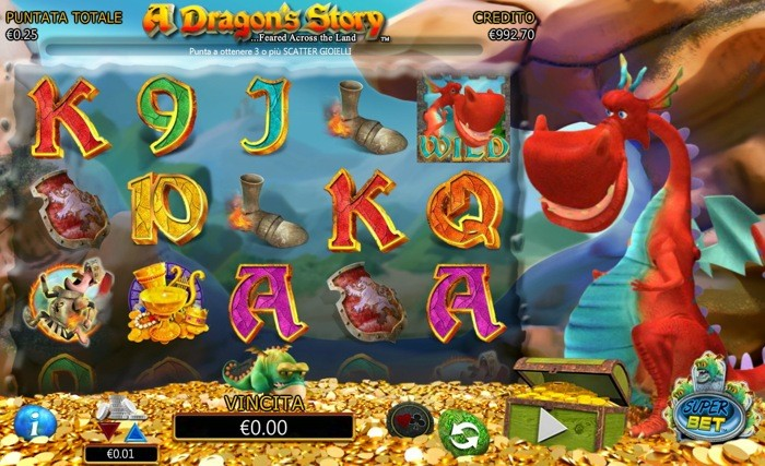 a dragons story slot machine