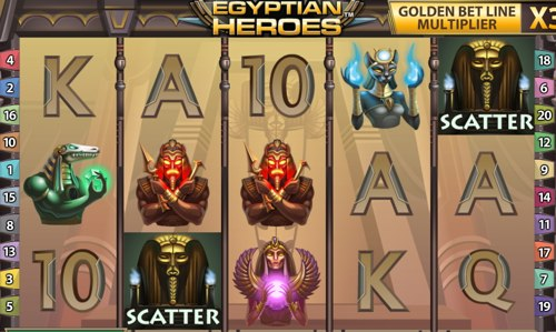 La Slot Machine online Egyptian Heroes