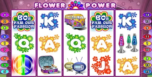 La Slot Machine Flower Power