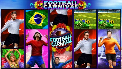 La Slot Machine Football Carnival