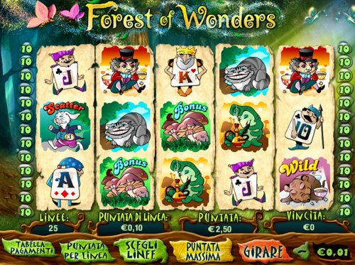 Gioca a Forest of Wonders su Casino.com Italia