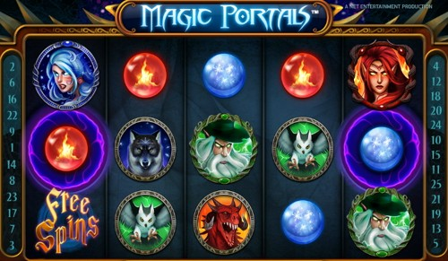 La Slot Machine Magic Portals
