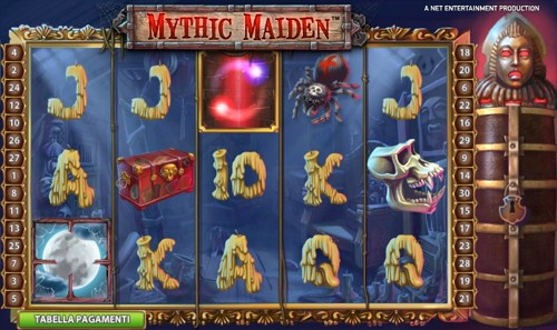 La Slot Machine Mythic Maiden