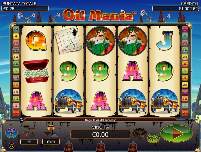 oil mania slot machine