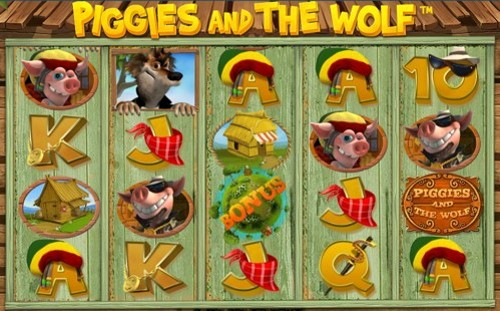 La Slot Machine Piggies and the Wolf