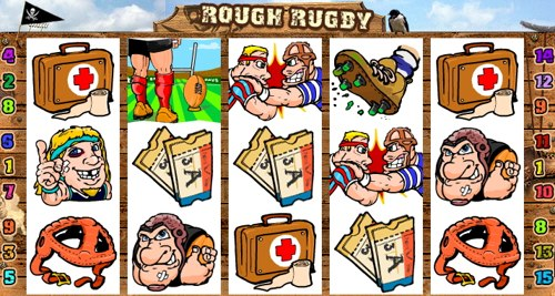 La Slot Machine Rough Rugby