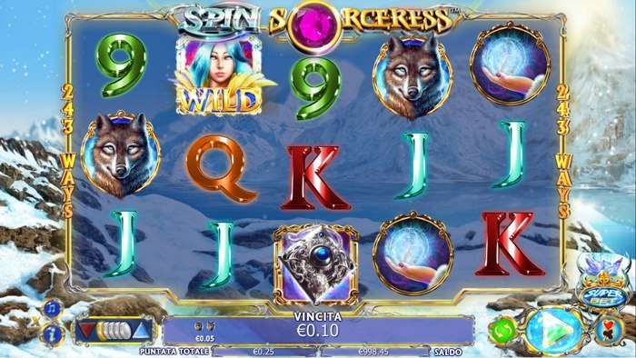spin sorceress slot machine