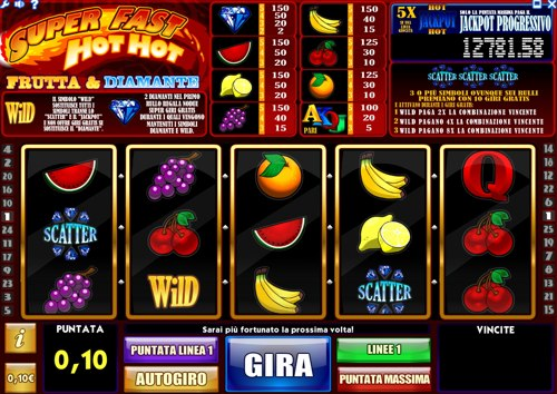 Una Slot Frutta: Super fast hot hot