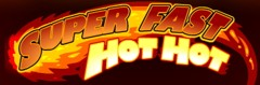 super fast hot hot logo