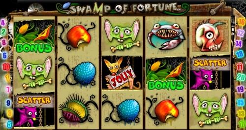 La Slot Machine Swamp of Fortune