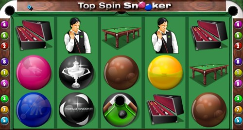 La Slot Machine Top Spin Snooker
