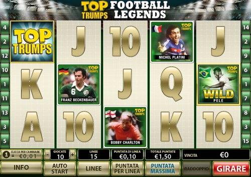 Gioca a Top Trumps Football Legends su Casino.com Italia