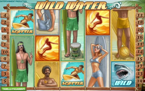 La Slot Machine Wild Water