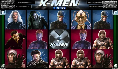 La Slot Machine X-Men 50 Lines