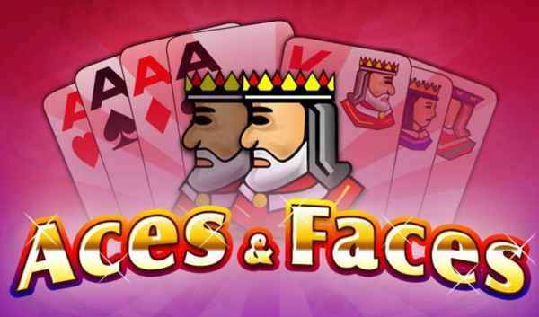Aces and Faces videopoker logo