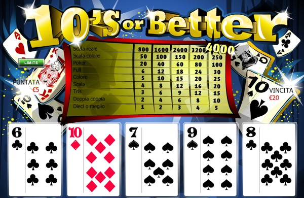 Video Poker Online Tutti i Giochi Gratis Videopoker