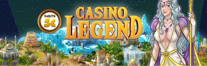 casino legend eurobet 5 bonus