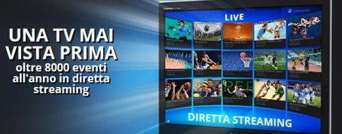 Streaming delle partite su Eurobet TV