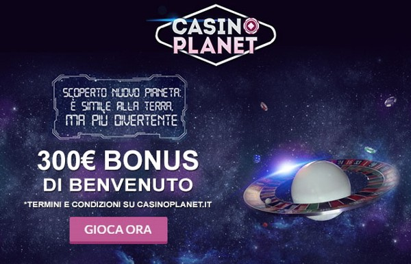 Casinoplanet Bonus