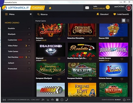 Lottomatica casino online recensione di vegas club for Recensioni di software planimetrie