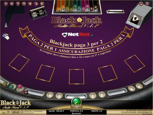 blackjack multihand vip netbet