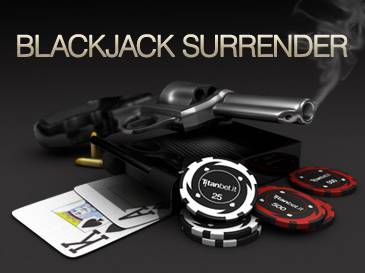 blackjack surrender home